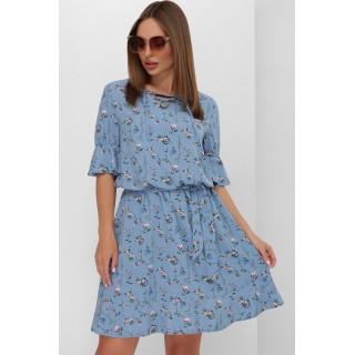 Купить платье с цветочным принтом