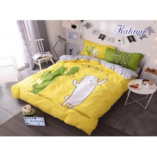 Комплект постельного белья с компаньоном Кактус 160х215см