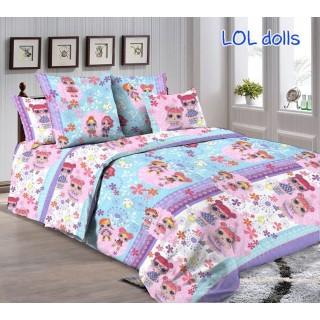 Комплект постельного белья Lol dolls 160х215