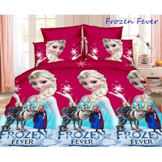 1,5-спальное постельное белье Frozen Fever