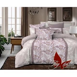 Двуспальный комплект постельного белья R2023begie
