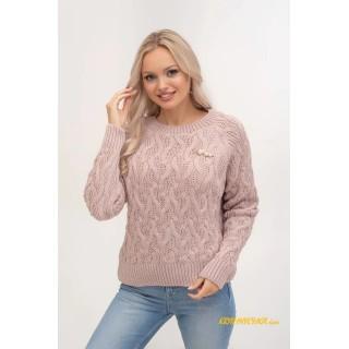 Молодіжний в'язаний светр