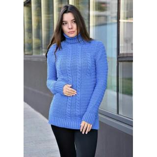 Купить синий женский свитер Натали