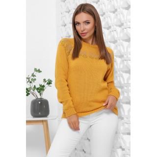 Красивые женские свитера модного цвета